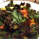 Roasted Carrots and Kale