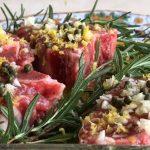 Gremolata Lamb Loin Chops