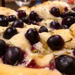 Black Grape Foccacia